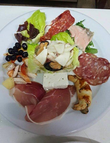 piatto tipico LA TAVOLA Corigliano Calabro