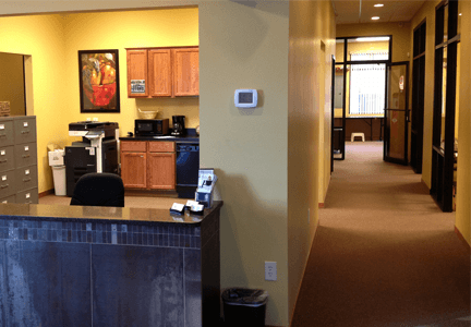 Our office for bookkeeping services in Lincoln, NE