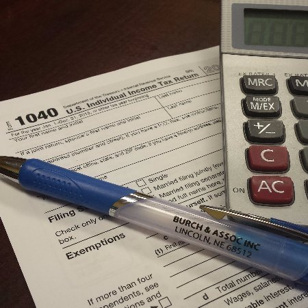 A form for tax preparation in Lincoln, NE
