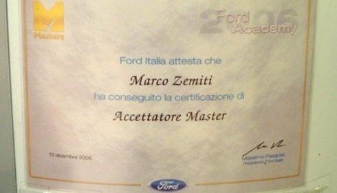 Attestato Ford