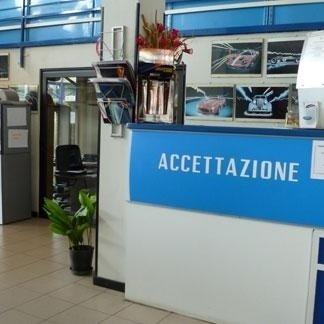 Bancone accettazione