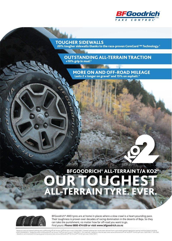 Image of a BFGoodrich KO2 Tyre