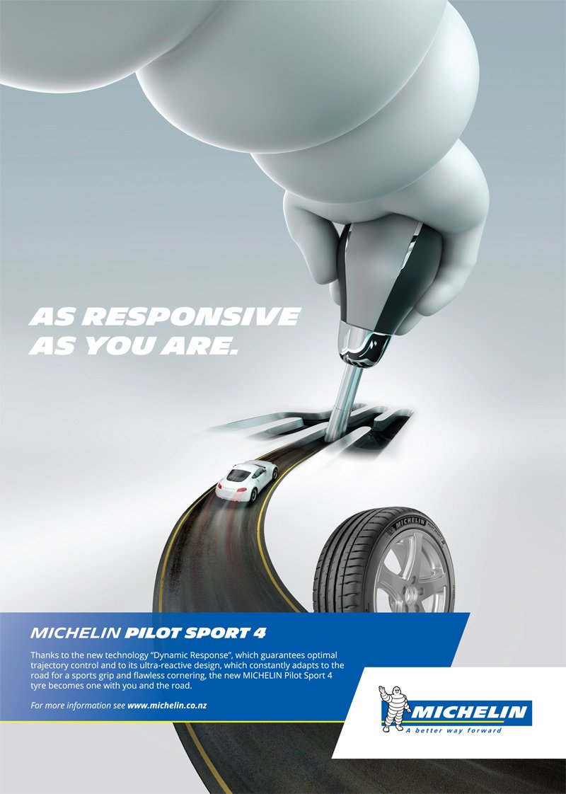 Image of michelin pilot sport 4 tyre