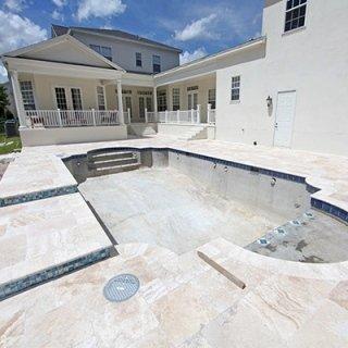 piscina in cemento