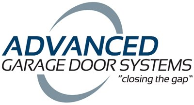 advanced garage door systems business logo