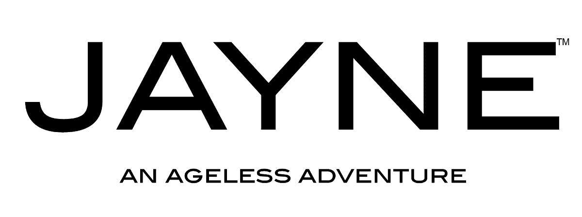 JAYNE: An Ageless Adventure (Jayne Boutique logo)