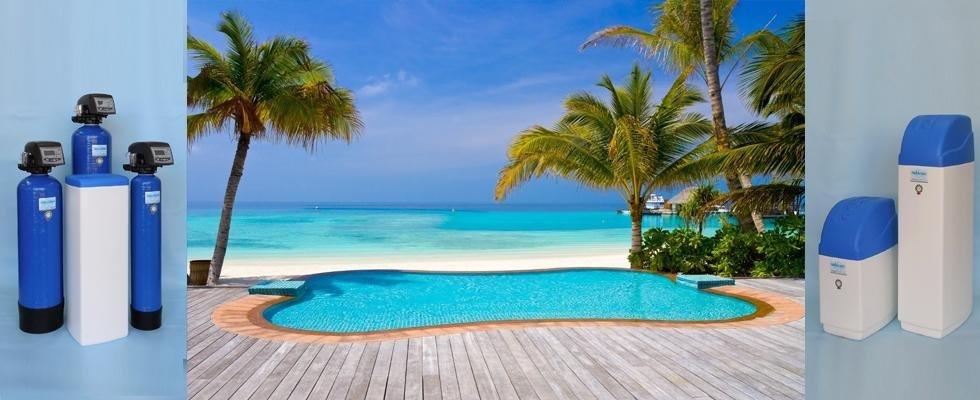 Trattamento acque per piscine