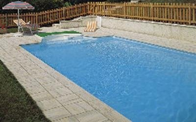 Sunken pool design Modena