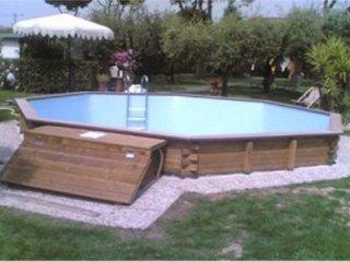 Raised garden pools