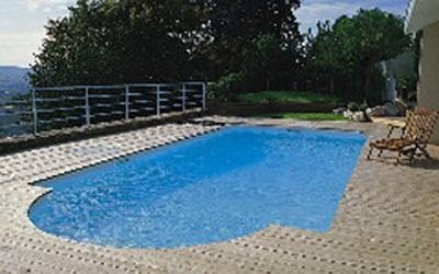 Modena sunken pool construction