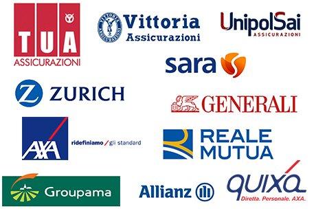 loghi di compagnie assicurative