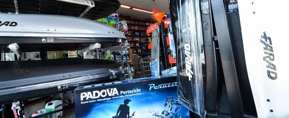 accessori per autoveicoli Padova