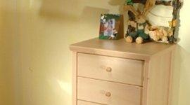 cassettiera in legno