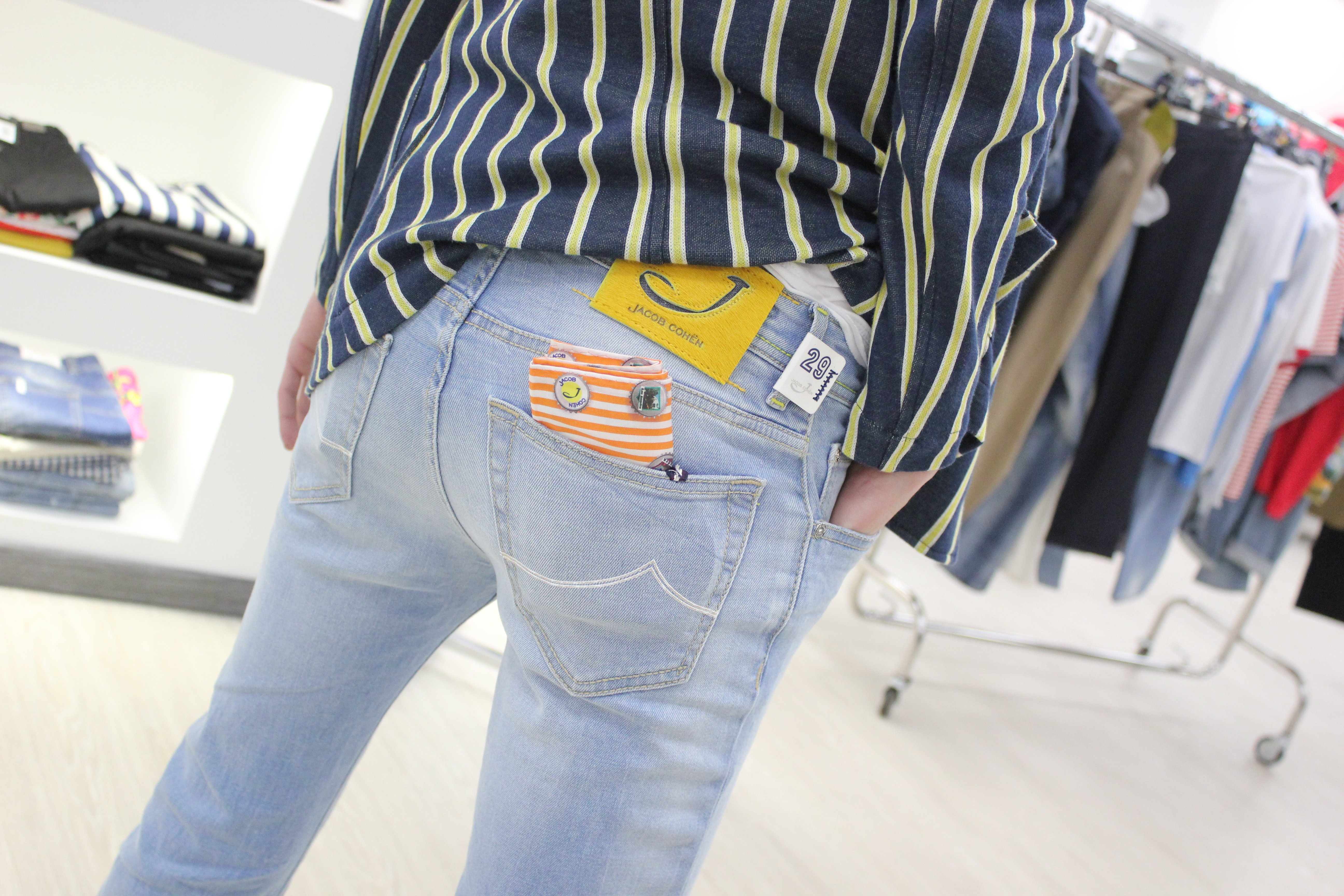 jeans griffati