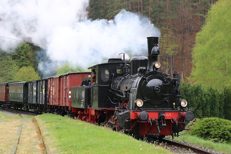 Museumsbahn Kuckucksbähnel Regelfahrtage 2017: Juni 04. / 05. / 18.