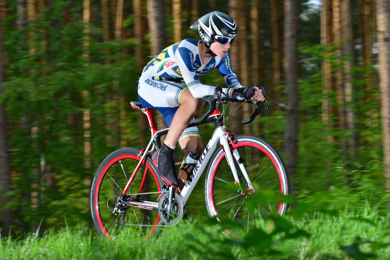 Straßenradrennen  Merlin Cambeis Elmstein (RLP Meister)
