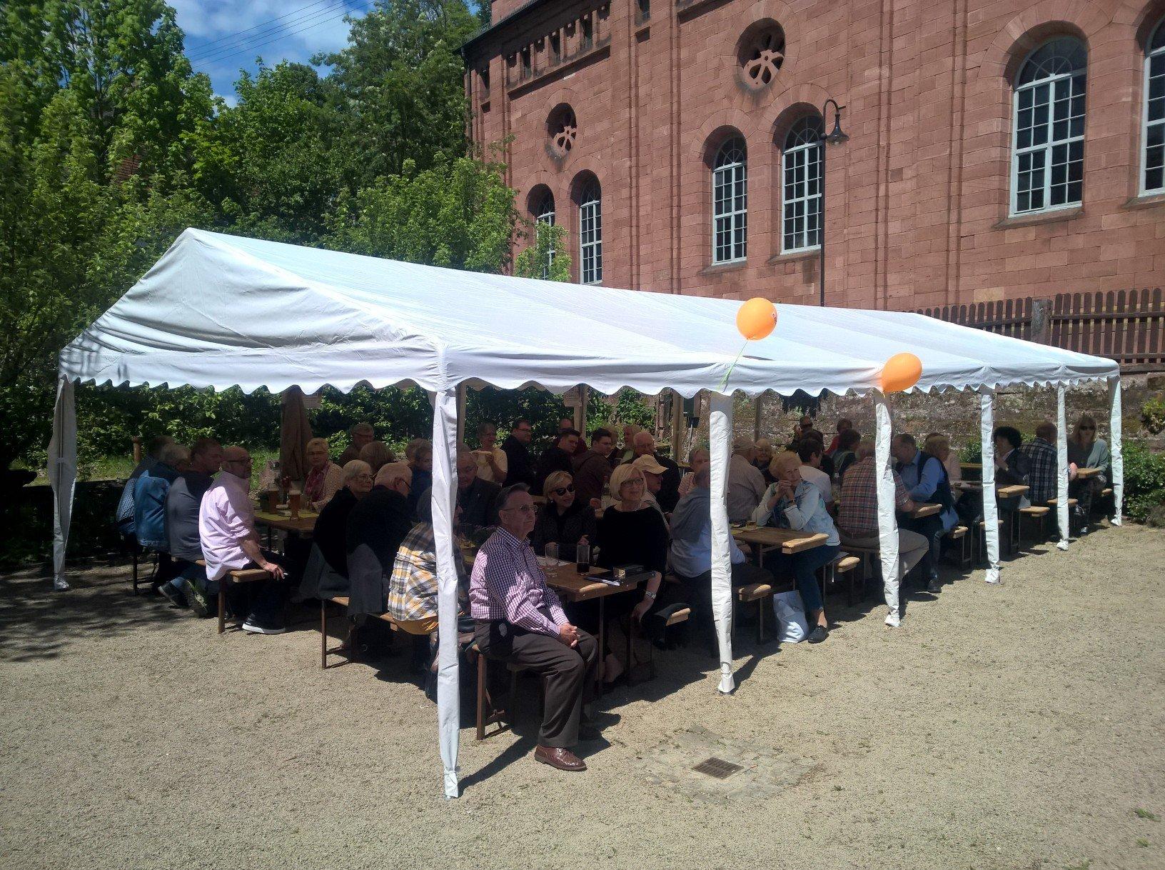 21.05. 2017 CDU Fest in der Samenklenge Elmstein.