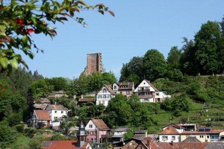 Elmstein im Speyerbachtal des Pfälzerwald