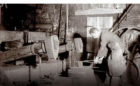 Das »arbeitende Museum« Elmsteiner Wappenschmiede