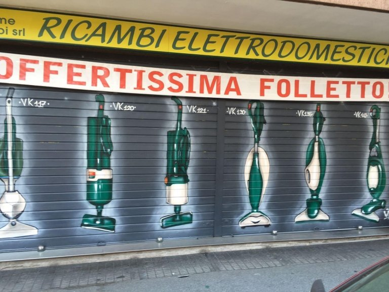 Centro ricambi folletto roma tiburtina essemme ricambi - Lavasciuga folletto ...