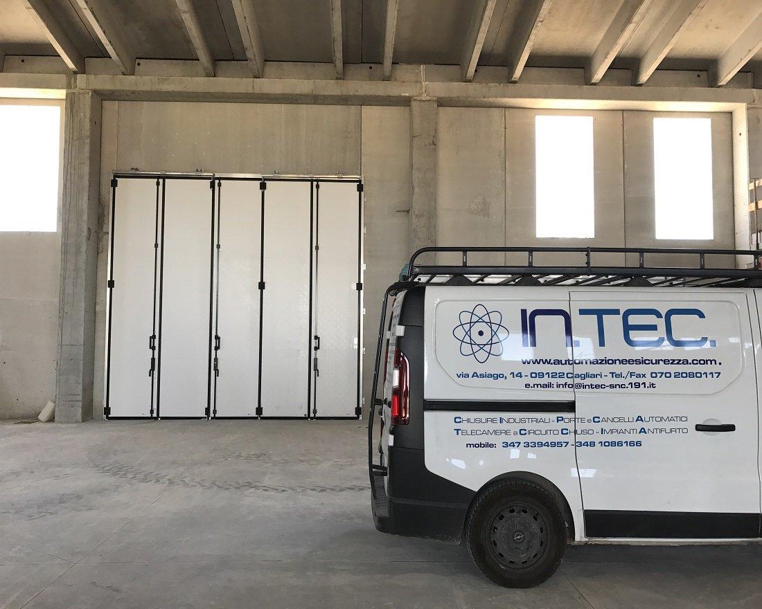 Porte e Portoni Sezionali industriali