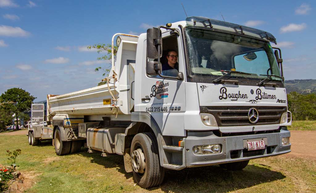 Boughen Bitumen truck
