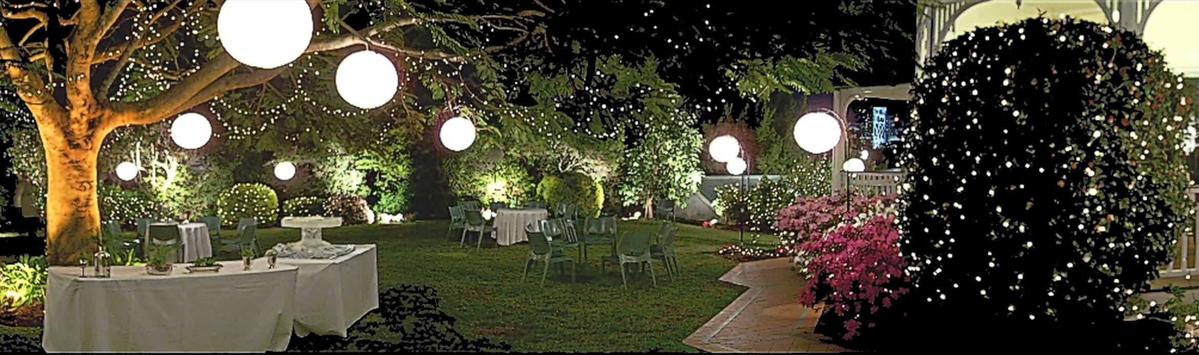 Garden Lights Qld : Lighting hire queensland action packed