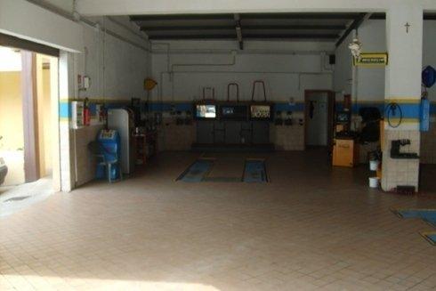 veduta interna del centro riparazione