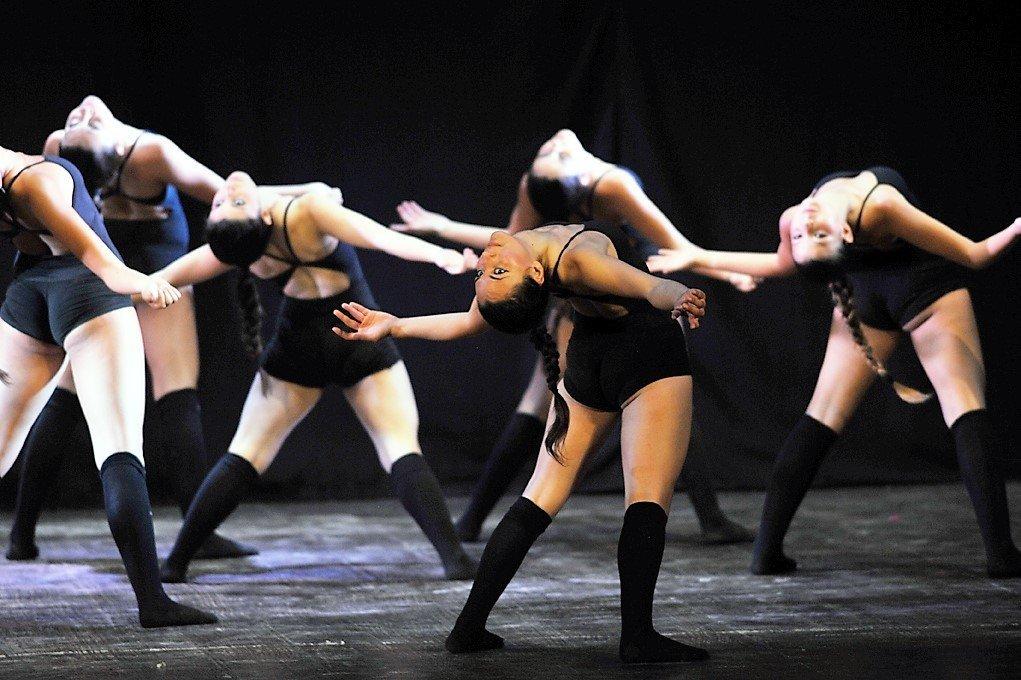 coreografia di danza contemporanea