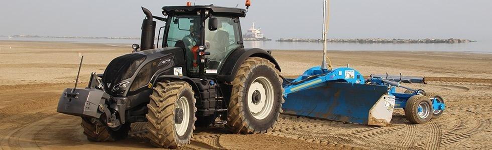 Manutenzione spiagge Rimini