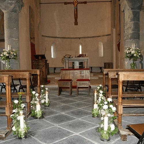 Allestimenti floreali per ogni tipo di cerimonia