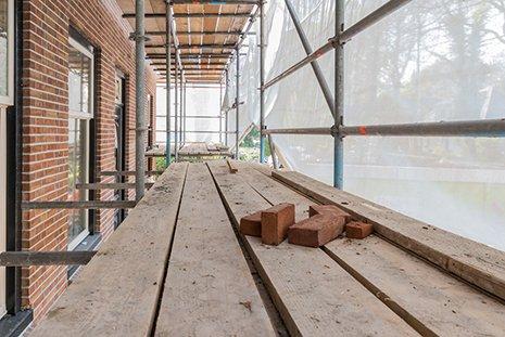 Edificio in costruzione C.E.L.E. srl Genova