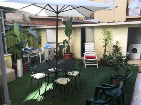 il giardino della Casa di Riposo Medicalizzata Santa Rita