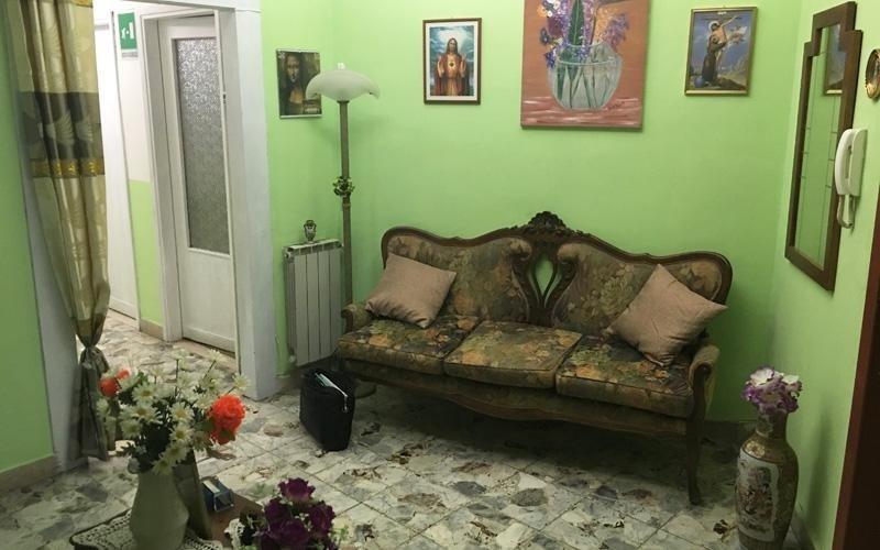 Area relax casa di riposo Santa Rita