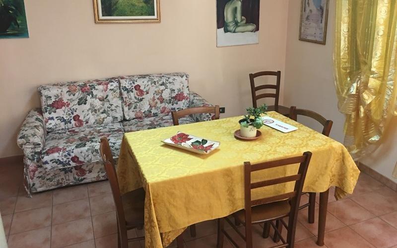 Zona giorno casa di riposo Santa Rita