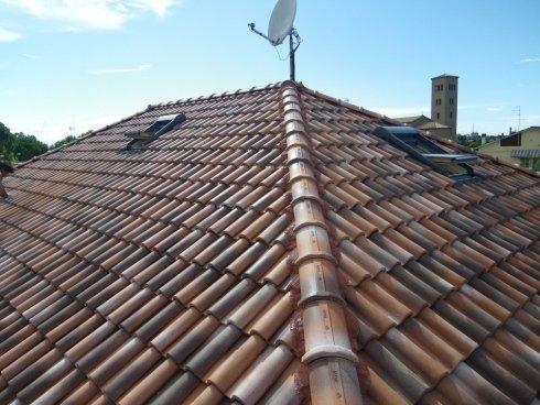 Lavoro di copertura tetto