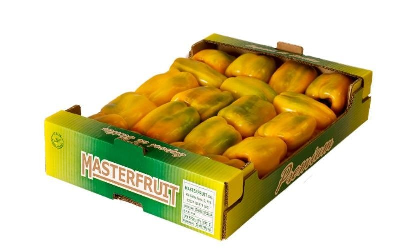ingrosso peperoni gialli Sicilia