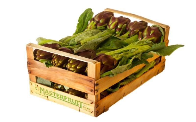 cassetta di carciofi Masterfruit