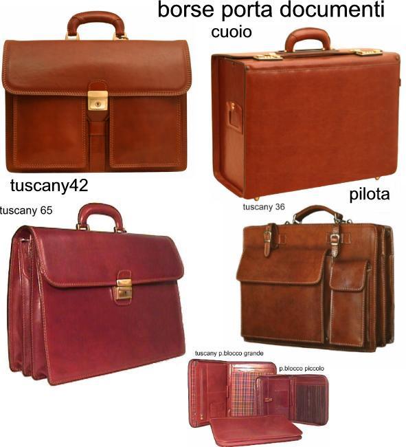 borse porta documenti di varie dimensioni