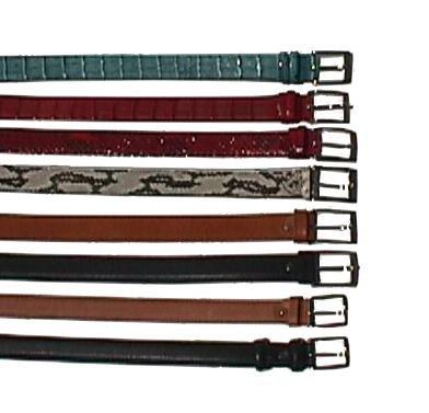 vari tipi di cinture