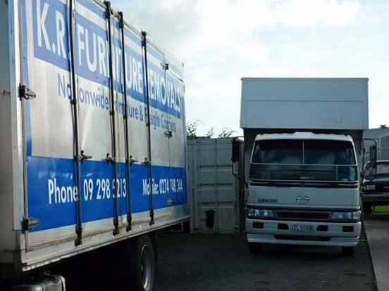 KR Furniture Removals trucks
