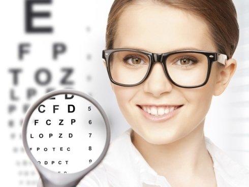 Servizi di optometia per la misurazione della vista