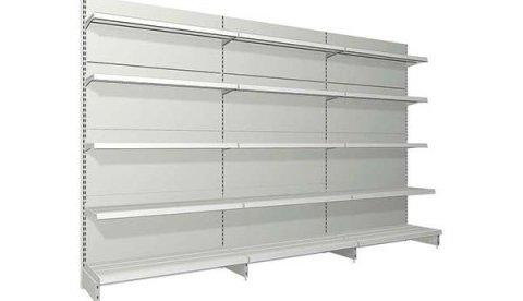 Scaffale metallico per negozi e ferramenta