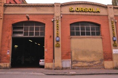 Autorimessa S. Orsola Bologna, adiacente all