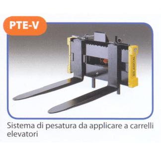 Sistema di pesatura da applicare a carrelli elevatori