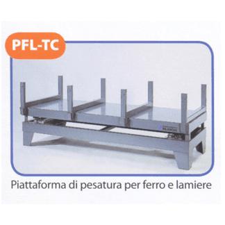 Piattaforma di pesatura per ferro e lamiere