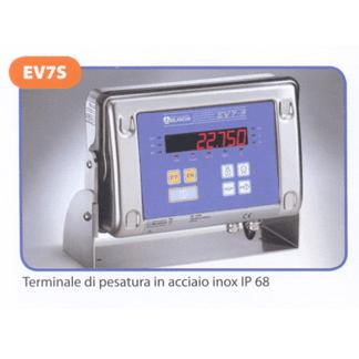 Terminale di pesatura in acciaio inox IP68