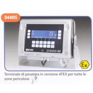 Terminale di pesatra in versione ATEX per tutte le zone pericolose