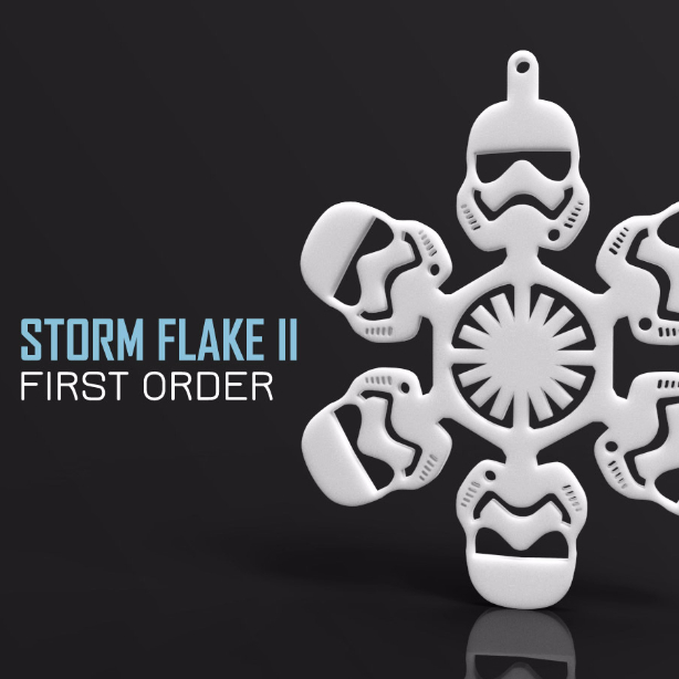 3D print of a Storm trooper Christmas decoration by FORGE3D