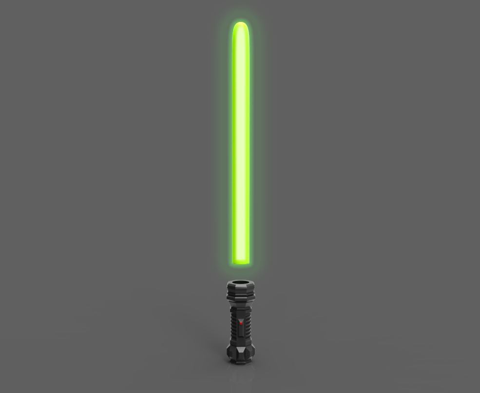 3D PRINT OF A LIGHTSABER BY FORGE3D